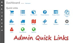 Admin Quick Links