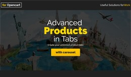 Advanced Products in Tabs