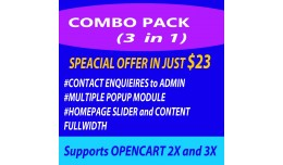 Best Offer Combo 3 in 1(Fullwidth Slider+Popup+C..