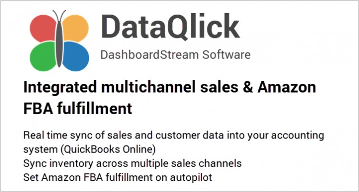 DataQlick Integrated Multichannel Sales & Amazon fulfillment