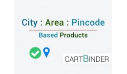 City area pincode based products & delivery ..