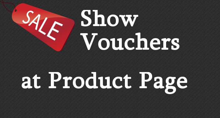 Karley voucher visible at product page