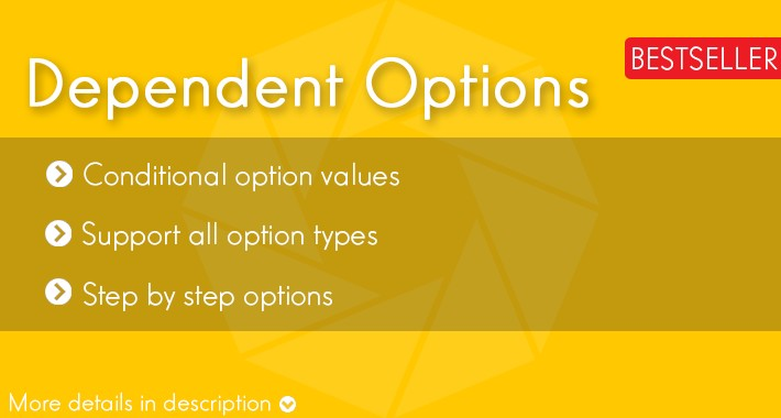 Conditional Options - Options Dependent on Another Option