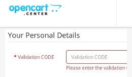Customer registration - Email live verification ..