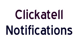 Clickatell notifications
