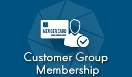 Customer Group Membership