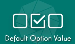 Default Option Value