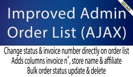 OC3 - Improved Admin Order List