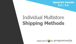 Separate\Unique\Individual Multistore Shipping M..