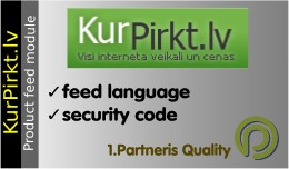 KurPirkt.lv Product Feed for OpenCart 1.5x
