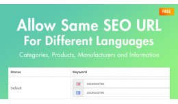 Allow Same SEO URL For Different Languages (OC3...