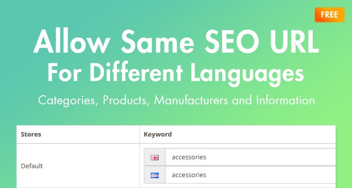 Allow Same SEO URL For Different Languages (OC3.0x)