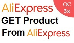 Get Product from Aliexpress OC3x