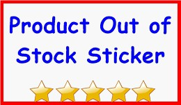 Product Out of Stock Sticker