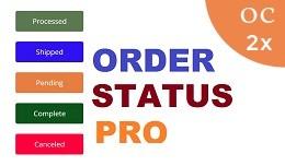 Order status Pro OC2x