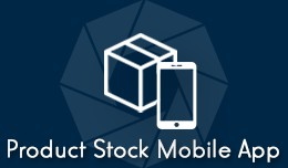 Product Stock Mobile App + Barcode