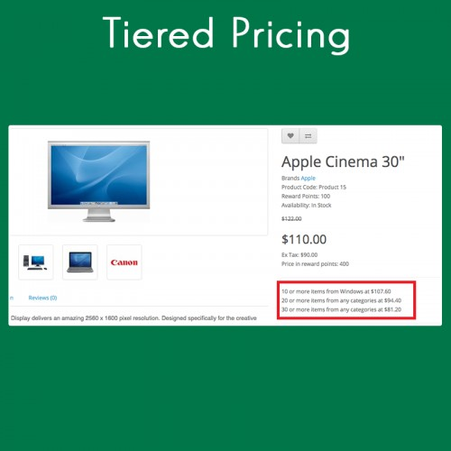 Tiered Pricing: Tiered Pricing