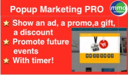 Popup Marketing PRO!