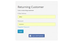 Facebook Login Extention VQMOD works with one pa..