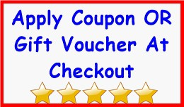 Apply Coupon OR Gift Voucher At Checkout