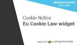 Cookie Notice (EU Cookie Law) Module