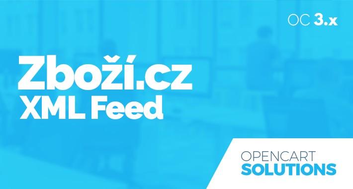 Zboží.cz XML Feed produktov pre OC 3.x