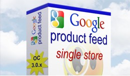 Google Product Feed for Opencart 3.0 - Single St..