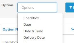 Admin Options Filter 3.x