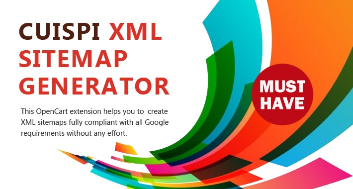 opencart xml sitemap generator by cuispi create advanced xml