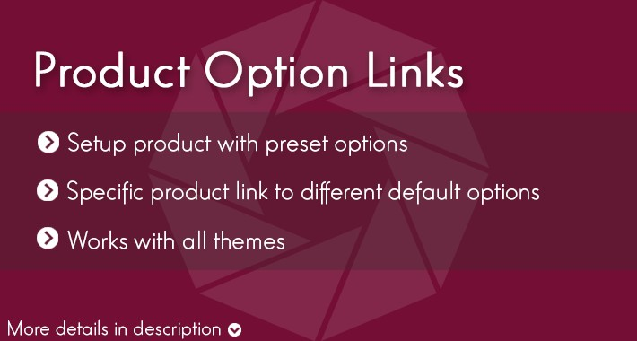 Product Option Links