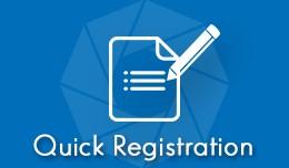 Quick Registration