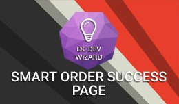 Smart Order Success Page