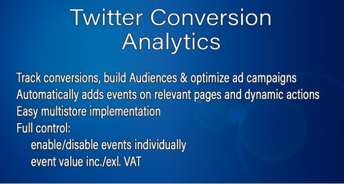 Twitter Conversion Tracking Analytics