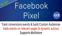 [Multistore] Facebook Pixel Analytics - +800 dow..