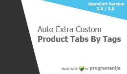 Auto Extra Custom Product Tabs by Tags
