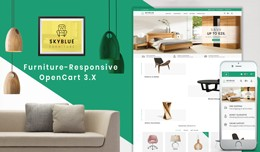 Skyblue Furniture OpenCart 3.x Responsive Theme