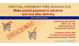 Partial Payment Pro Advanced