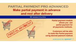 Partial Payment Pro Advanced