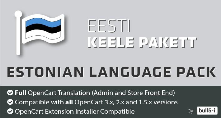 Estonian Language Pack / Eesti keele pakett