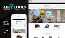 Air Tools Opencart Responsive Theme