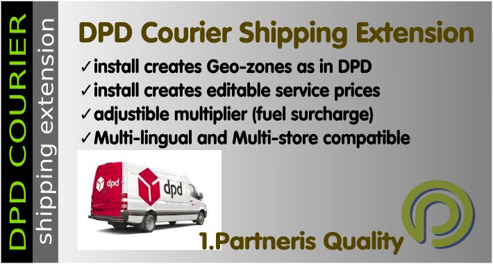 OpenCart - DPD Courier Shipping Module for OpenCart 3 x