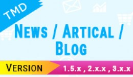News/ Artical/ Blog (1.5.x , 2.x & 3.x)