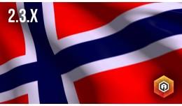 Norsk språkpakke / Norwegian Language Pack (2.3..