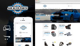 Air Autoparts Opencart Responsive Theme