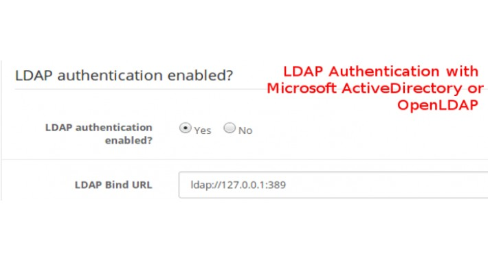 Customer Login With LDAP (Microsoft ActiveDirectory/OpenLDAP)