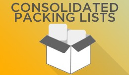 Consolidated Packing Lists