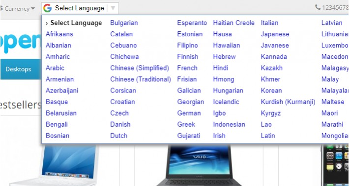 Google Language Translator 3.x