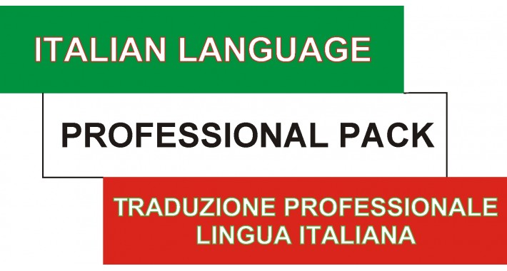 Italian Language Professional Pack