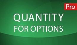 Quantity for Options Pro