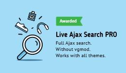 Live Ajax Search PRO